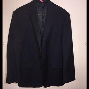 Calvin Klein Dark Gray Wool  Blazer Jacket 40R